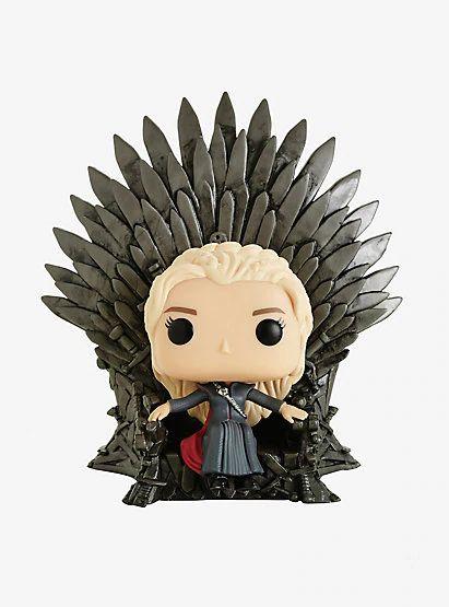 Funko Pop Daenerys Targaryen no Trono de Ferro 75
