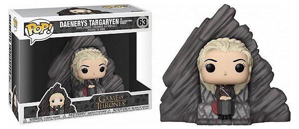 Funko Pop Daenerys Targaryen na Pedra do Dragão 63
