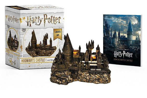 Harry Potter Castelo de Hogwarts e Sticker Book: Lights Up! (Acende - Inglês) Capa Comum
