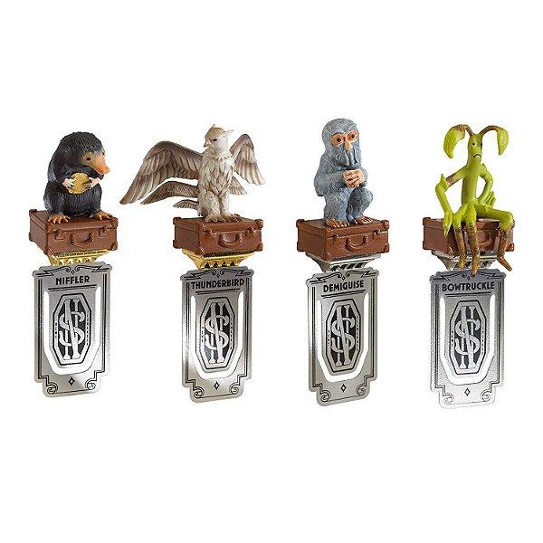 Exclusivo Marcadores Animais Fantásticos por Noble Collection - Fantastic Beasts Bookmarks