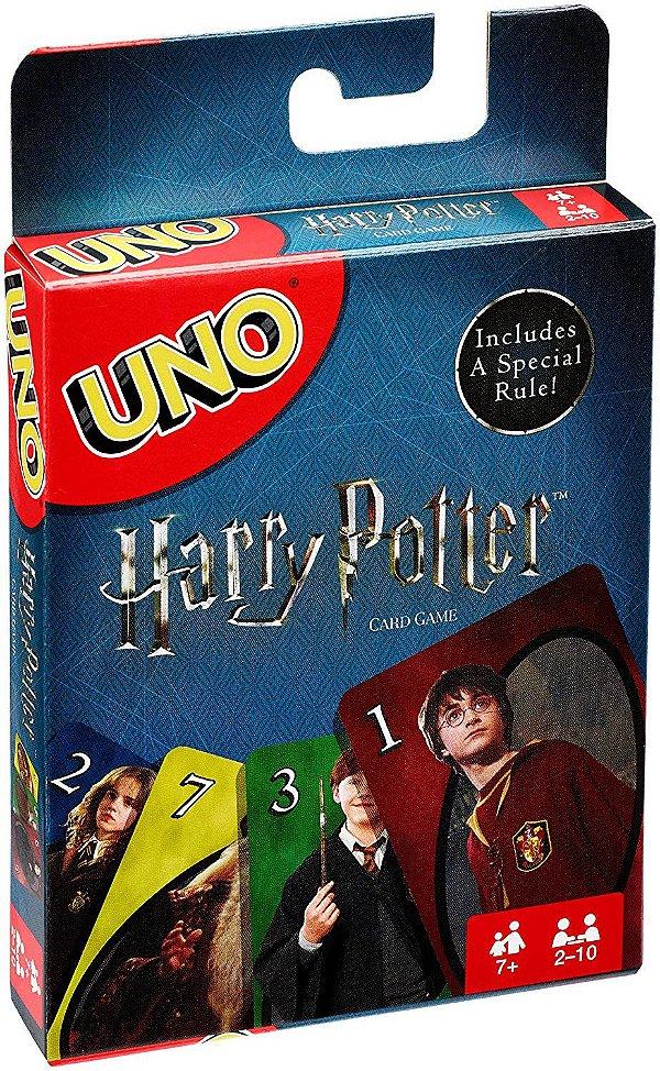 Jogo de Cards UNO Harry Potter Original Mattel