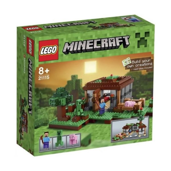 Lego 21115 Minecraft The first night 408 peças