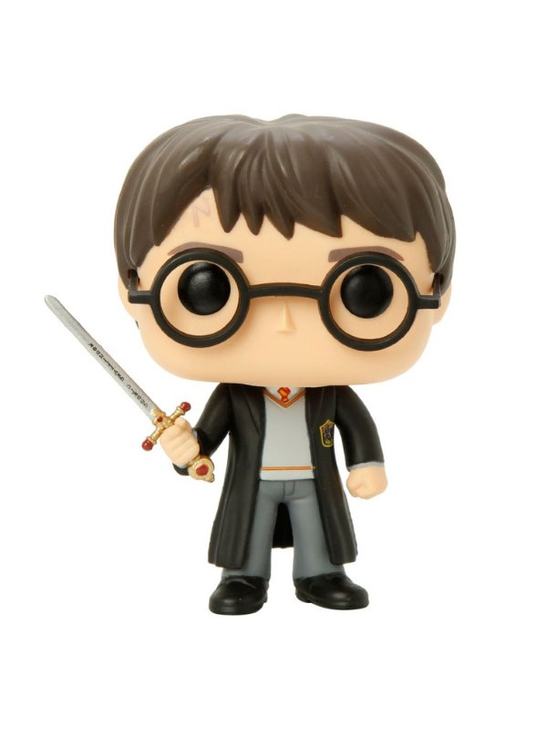 Funko RARO Harry Potter com Espada - Edição limitada Hot Topic