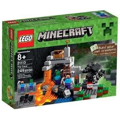 Lego Minecraft 21113- A Caverna - 240 peças