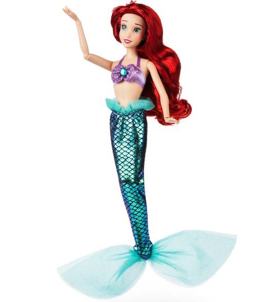 Disney Princesas Boneca Original Ariel que canta The Little Marmeid -  Boneca 30cm