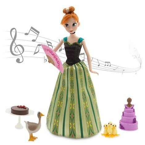 Disney Frozen Anna que canta For the First Time in Forever - Boneca 30cm