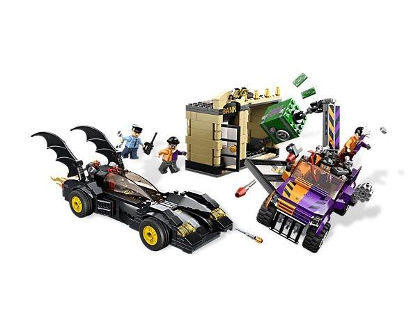 LEGO 6864 - Super Herois Batmovel e o Duas Caras Chase