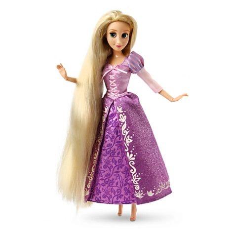 Disney Princesas Boneca Rapunzel 30cm