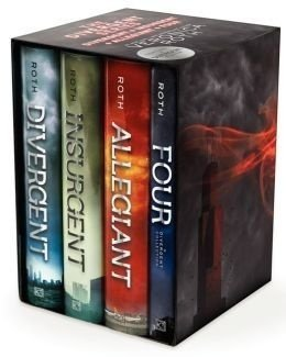 Divergent Series Ultimate Four-Book Set: Divergent Insurgent Allegiant Four