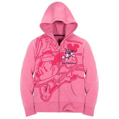 Moletom Rosa Infantil Disney Mickey Mouse