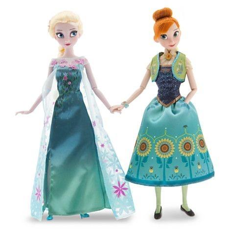 Anna e Elsa em Frozen Fever (30 cm)