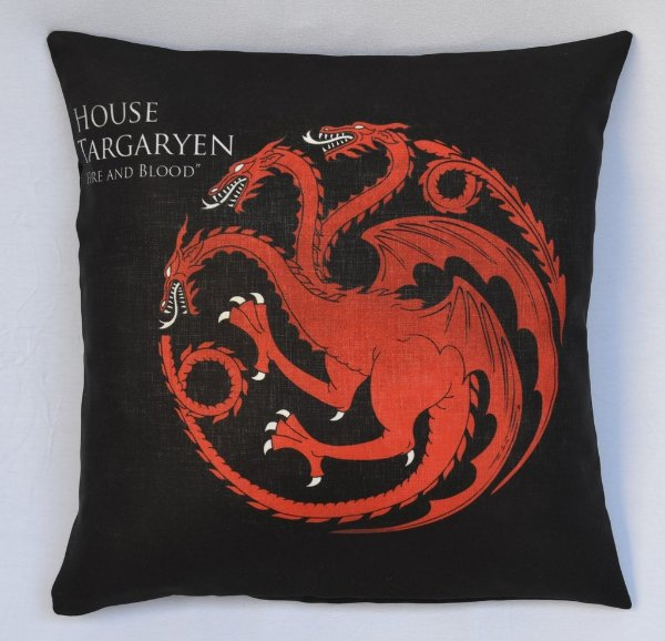 Almofada Game of Thrones - Casa Targaryen