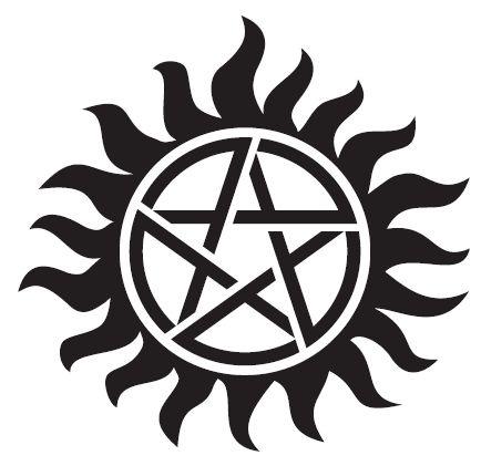 Tatuagem Supernatural (kit com 2 tatoos)