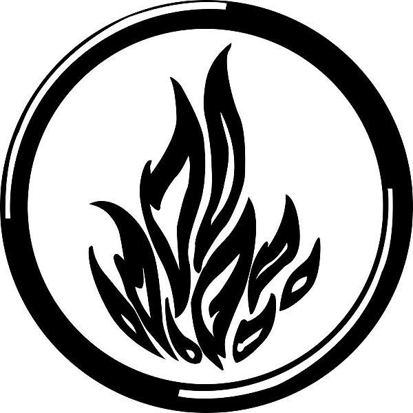 Kit com 5 tatuagens Facções Divergente - Frete Gratuito