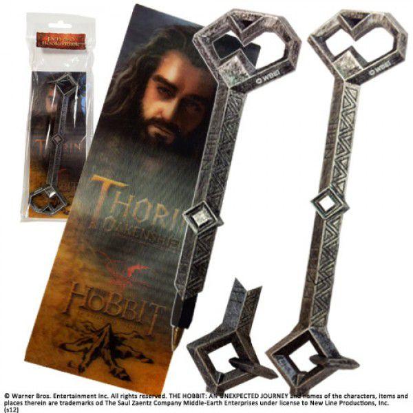 Exclusiva Caneta Original Oakenshield de Thorin(escudo de carvalho) acompanha marca página