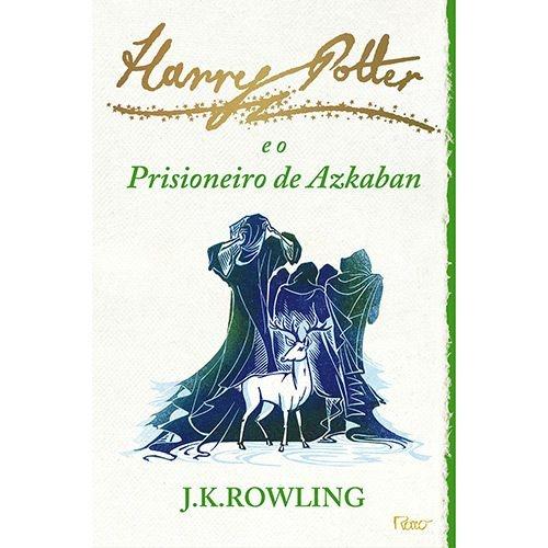 Harry Potter e o Prisioneiro de Azkaban - Livro Três - capa branca