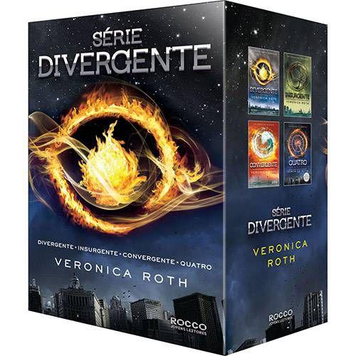 Kit Trilogia Divergente + o Livro Quatro