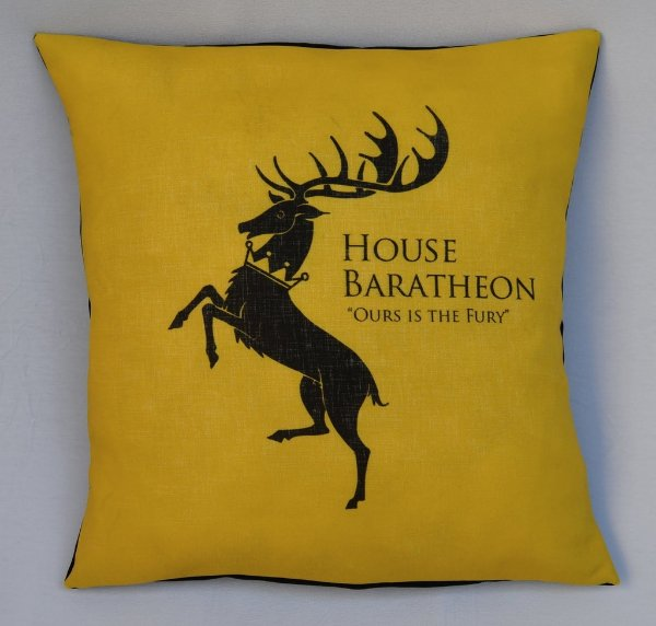 Almofada Game of Thrones - Casa Baratheon
