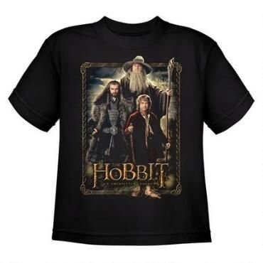 Exclusiva Camiseta Unissex - Bilbo, Gandalf e Thorin  - Original O Hobbit