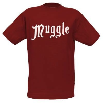 Exclusiva Camiseta Adulto Oficial Harry Potter Muggle