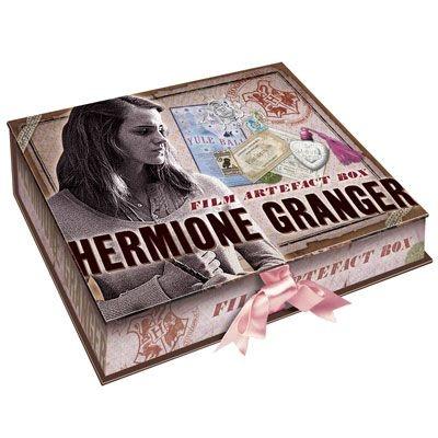 Linda Caixa Decorada e com artefatos de Hermione Granger