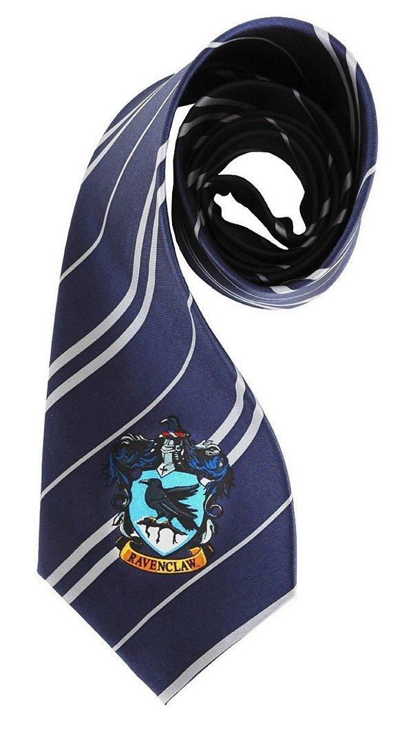 Gravata Harry Potter Ravenclaw - Corvinal (Por Elope)