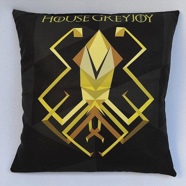 Almofada Game of Thrones - Casa Greyjoy
