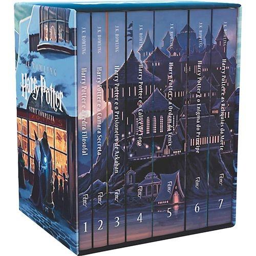 Livro - Coleção Harry Potter (7 Volumes) - FRETE GRATIS