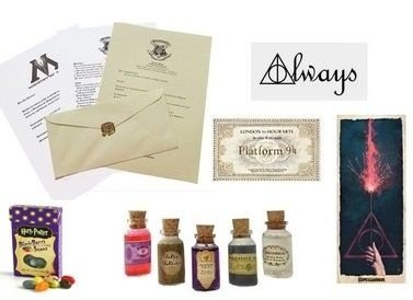 Kit Fã Harry Potter + Feijõezinhos de todos os sabores