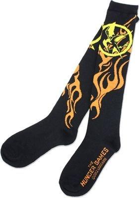 Meia Jogos Vorazes MokingJay (Contém 1 par de meias)