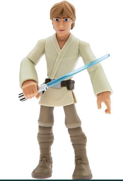 Figura de Ação Luke Skywalker Original Disney 12 cm ToyBox