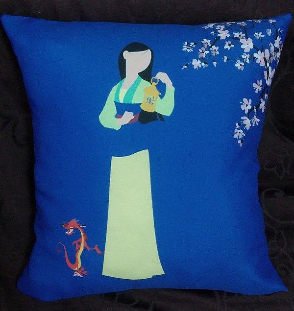 Almofada Disney Princesa Mulan