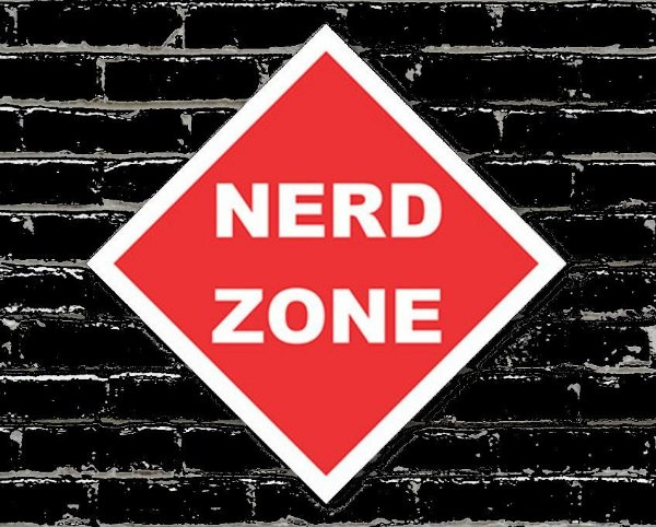 Placa Decorativa Nerd Zone
