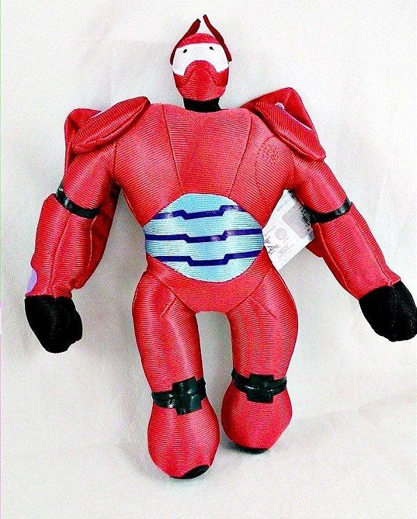 Pelúcia Hero6 Baymax com armadura