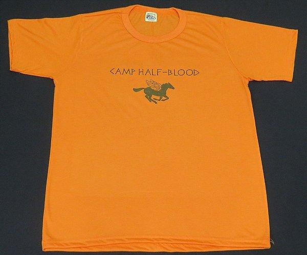 Camiseta Unissex Percy Jackson Acampamento Meio Sangue