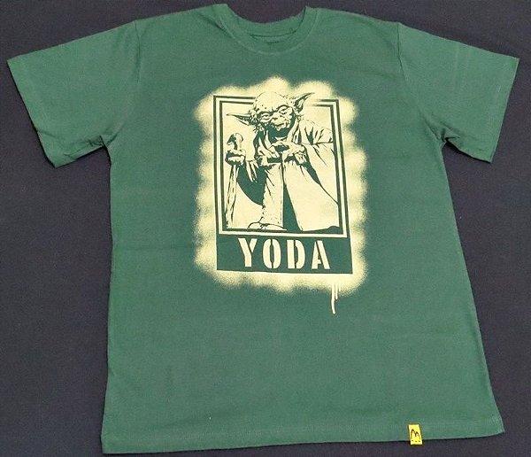 Camiseta Unissex Star Wars Yoda