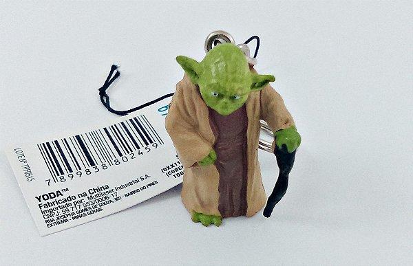 Chaveiro Star Wars Yoda  3,5cm