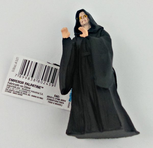 Chaveiro Star Wars Imperador Palpatine 8cm