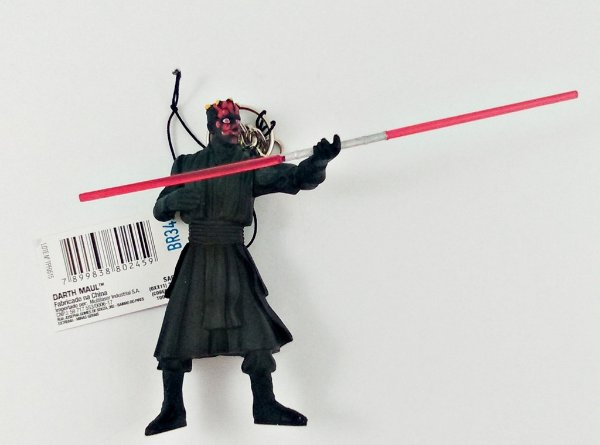 Chaveiro Star Wars Darth Maul 8cm