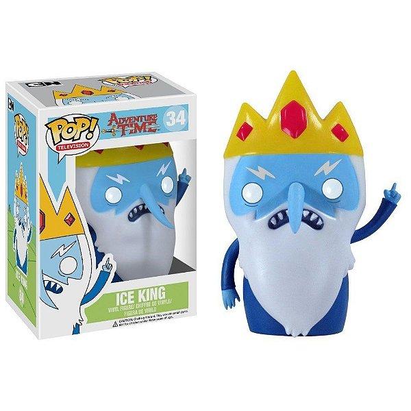 Desenho Hora Da Aventura - Rei Gelado - Funko Pop - Ice King