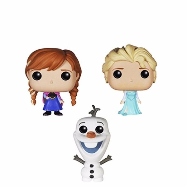 Funko Pop Pocket Frozen Kit Elsa + Anna + Ollaf