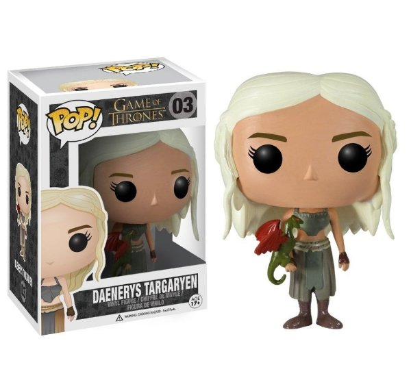 Funko Pop Game of Thrones - Daenerys Targaryen 03