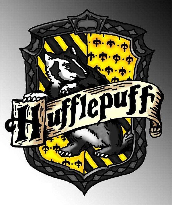 Brasões para parede Harry Potter Brasão - Lufa Lufa