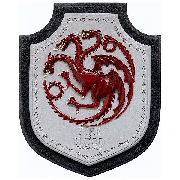 Brasão para parede Game of Thrones - Targaryen