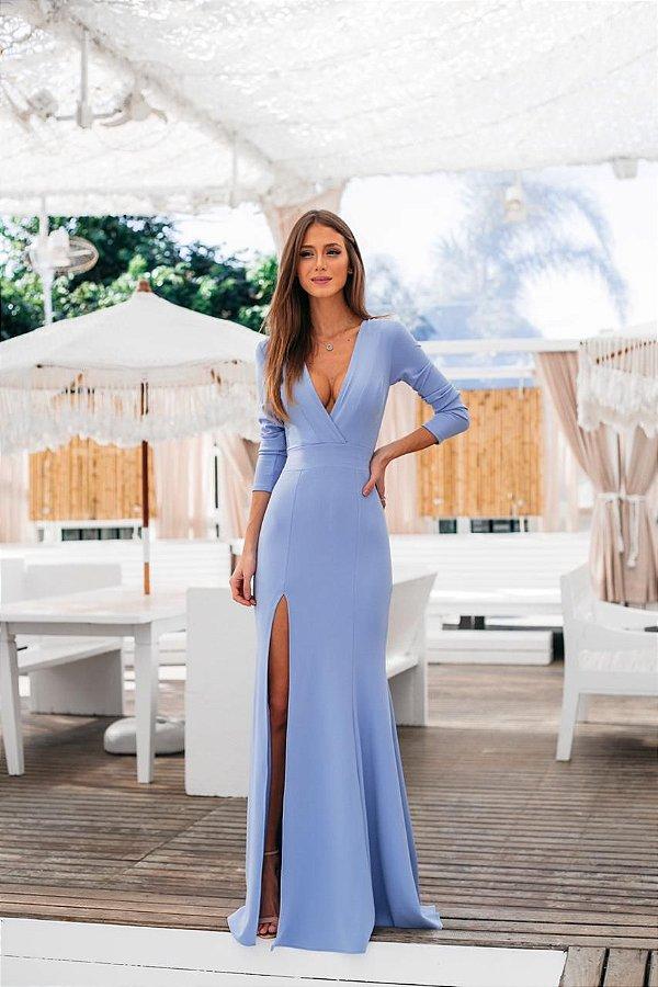 Vestido Andressa Azul