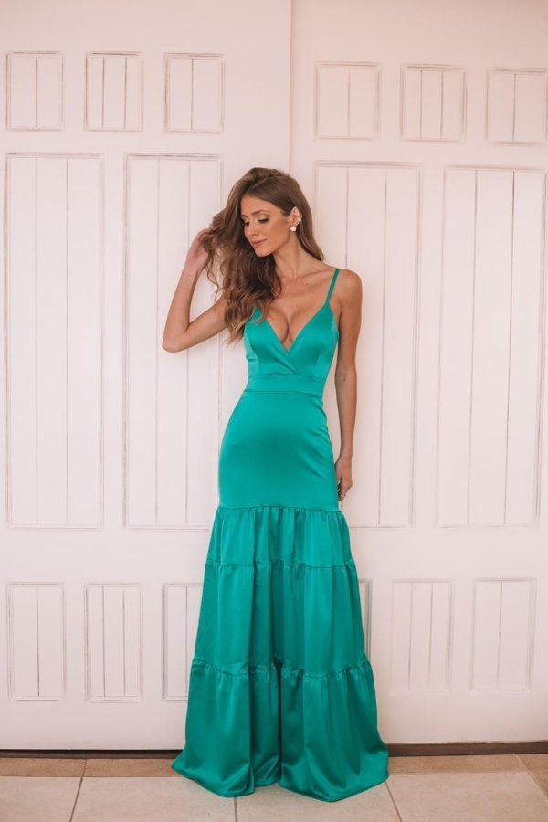 Vestido Taiane verde