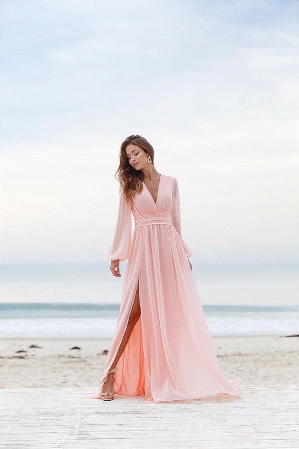 Vestido Alana rosa