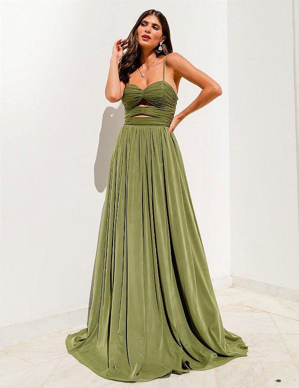 Vestido verena verde