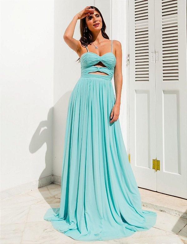 Vestido verena azul
