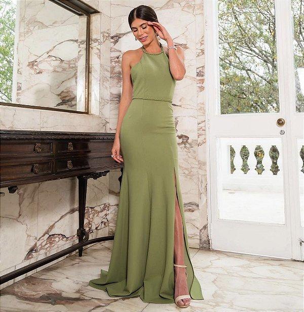 vestido isadora verde